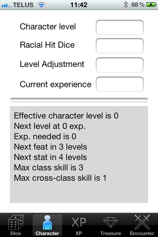Screenshot DnD Tools