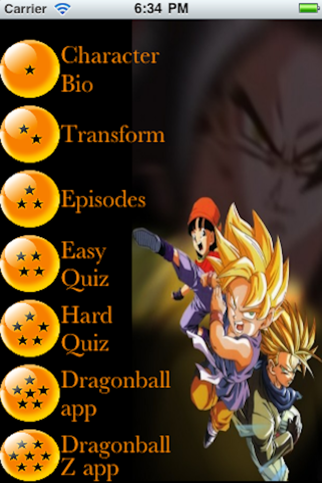 Screenshot Ultimate DragonBall GT