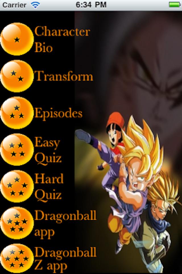 Screenshot Ultimate DragonBall GT
