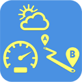Speed Map - Weather, Map, Speedometer, Route Tracker